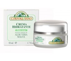 Corpore Sano Aloe Vera and Mallow Moisturising Cream 50ml.