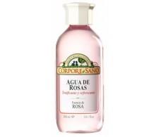 Corpore Sano Tónico Facial Agua de Rosas 200ml