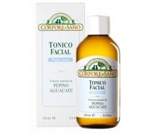 Corpore Sano Tonico Facial de Pepino y Aguacate 250ml.