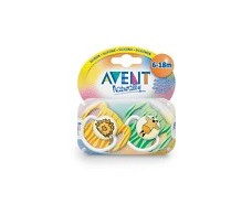 Avent Pacifiers Decorated 2 units 6-18 months