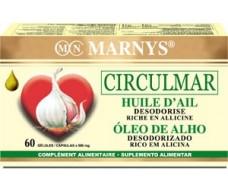 Marnys Circulmar Garlic Oil 60 Softgels.