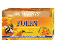 Marnys Bee Pollen 300mg/60 capsules.