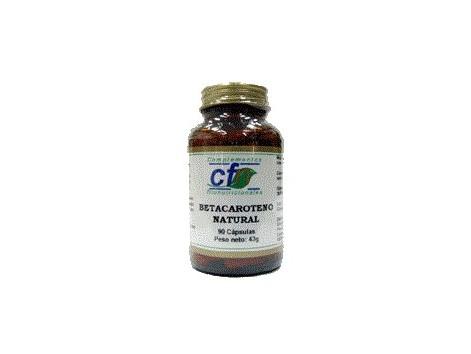 CFN Betacaroteno Natural 90 cápsulas.