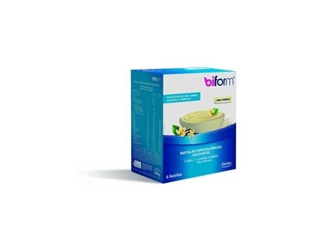 Dietisa Biform Vanilla Custard 6 sachets of 50 grams.