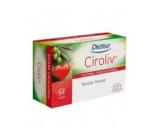 Dietisa Circulation Ciroliv 54 tablets.