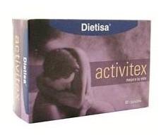 Dietisa Activitex 60 capsulas.