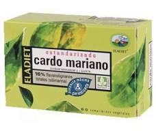 Eladiet Cardo Mariano Estandarizado 60 comprimidos de 330 mg.