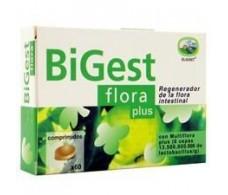 Eladiet Digest Flora Plus 60 comprimidos.
