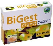 Eladiet Bigest Digest 30 comprimidos.