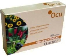 Eladiet Fitotablet Complex Ocu (Salud Ocular) 60 comprimidos.
