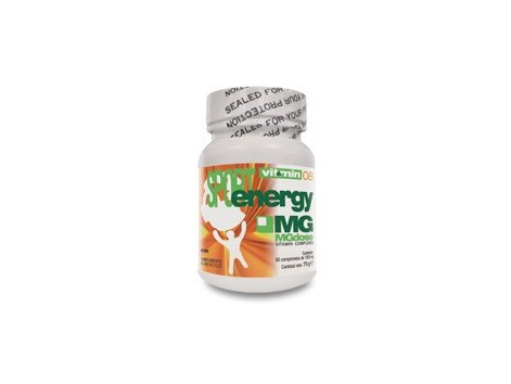 MGdose Vitamin 08 SportEnergy 30 comprimidos.