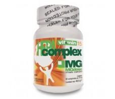MGdose Vitamin 15 HepaComplex 60 comprimidos.