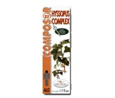 Soria Natural Composor 23 Hyssopus complex (allergies) 50ml.