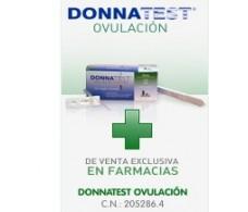 Donnatest Test de ovulación. 7 test + 1 test embarazo