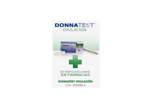 Ovulation Donnatest. 7 + 1 test pregnancy test