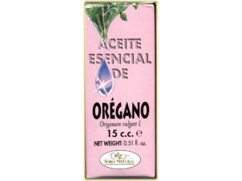 Soria Natural Aceite Esencial de Orégano 15ml.