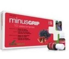 Soria Natural Minusgrip (defenses, immune system) 10 vials.