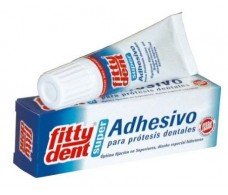 Fittydent Superadhesive for dentures 20 grams.