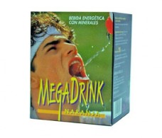 Mega Plus  Mega Drink Isotonic Lemon 10 sachets.