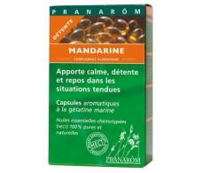 Pranarom Mandarina  40 oleoaromáticas Capsules.