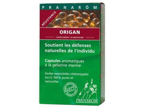 Pranarom Orégano Resistencia 30 Cápsulas oleoaromáticas