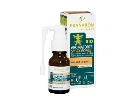 Pranarom Aromaforce Propolis and Blackcurrant throat spray 15 ml
