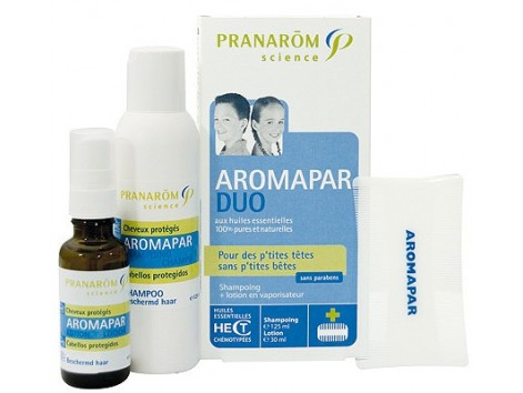 Pranarom Aromapar Duo Shampoo 125ml + Lotion 30ml.