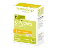 Pranarom Oleocaps-1 Nose Throat 30 Capsules.
