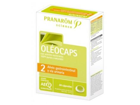 Pranarom Oléocaps-2 Alivio Gastrointestinal y Vía Urinaria  30 c
