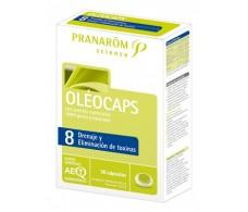 Pranarom Oleocaps-8 Drainage and Removes Toxins 30 caps.
