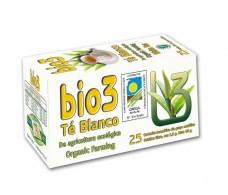 Bio3 Té Blanco Ecológico 25 filtros.