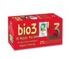Bio3 Organic Red Tea 25 filters.