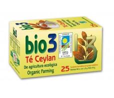 Bio3 Té Ceylan Ecológico,Yemas de primavera 25 filtros.
