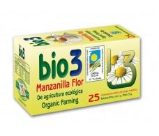 Bio3 Manzanilla Flor Ecológica 25 filtros.