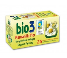 Bio3 Organic Chamomile Flower 25 filters.