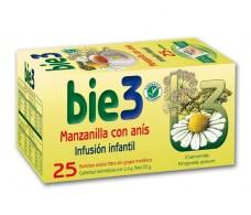 Bio3 Manzanilla con Anís 25 filtros.