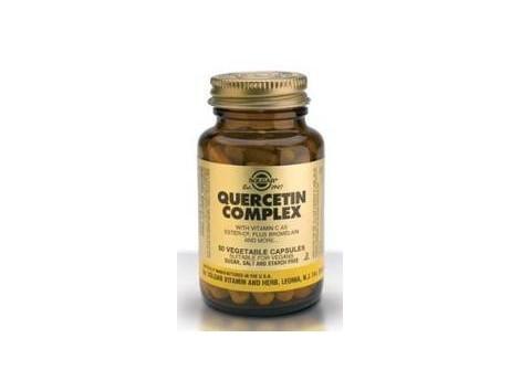 Solgar Quercitina Complex 50 cápsulas vegetales.