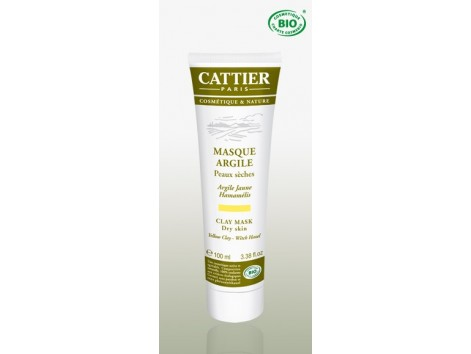 Cattier Yellow Clay Mask (dry skin) 100ml.
