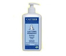 Cattier strongly hydrating milk 500ml.