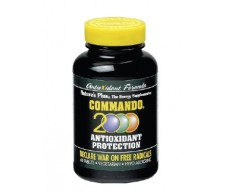 Nature's Plus Commando 2000. 60 comprimidos.