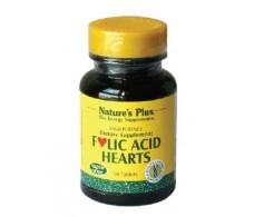 Nature's Plus Folic Acid Hearts 90 tablets.