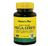 Nature's Plus Mega Stress 30 comprimidos.