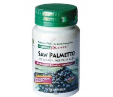 Nature´s Plus Saw Palmetto 200 mg 60 Softgels.