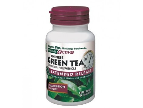 Nature's Plus Chinese Green Tea 30 tablets.