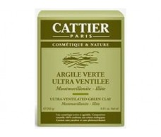 Cattier Ultraventilada Green Clay 250 grams.