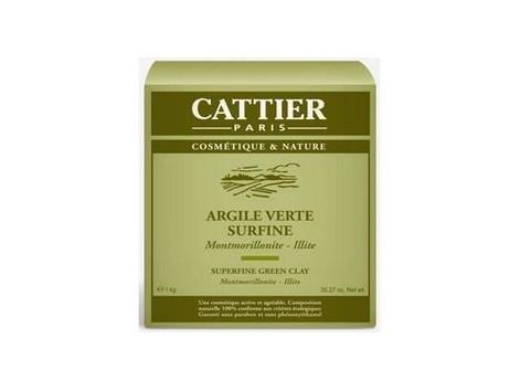 Cattier Super Green clay 3 kg.