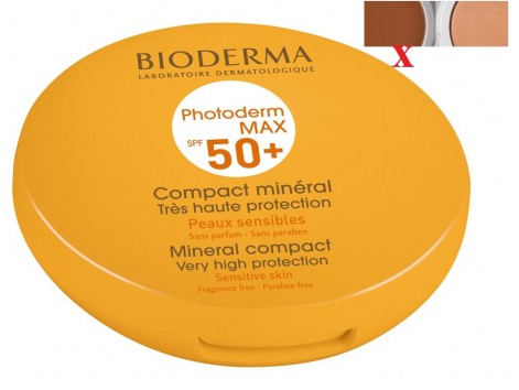 Bioderma Photoderm Max SPF50 + Dark Color Compact.