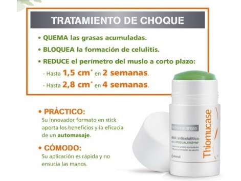 Thiomucase Stick  Anticelulítico with Lipodualenzym ® 7