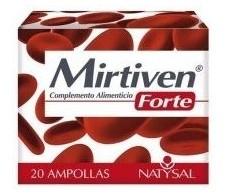 Natysal Mirtiven Forte 20 ampollas.