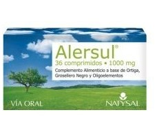 Natysal Alersul (Nettle Black Currant) 30 tablets.
